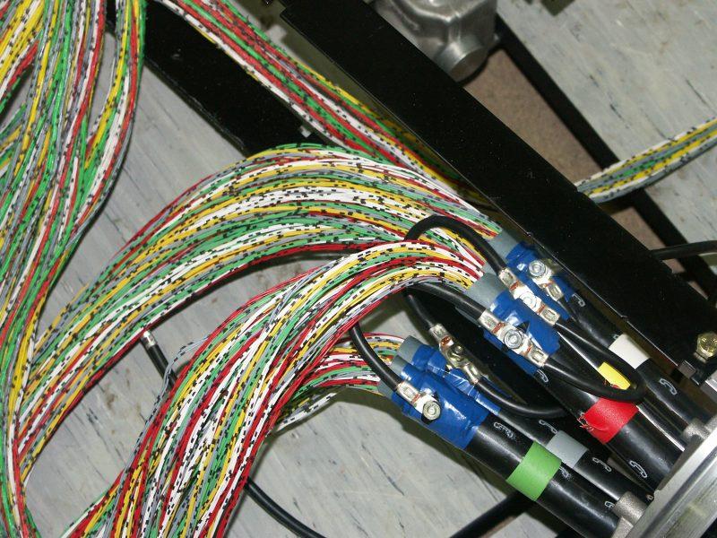 Zusammenführende High-Tech-Verbindungen