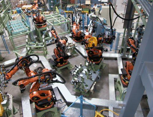 Effiziente Großanlagenrobotik