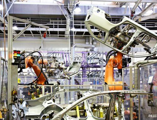 Mechanisierte Fügezelle für ASD Einbau (ASD = Panoramadach)