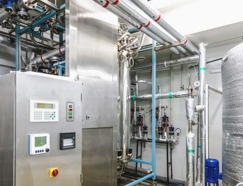 Brunnenausbau und Pumpenstation im Prüf- und Technologiezentrum