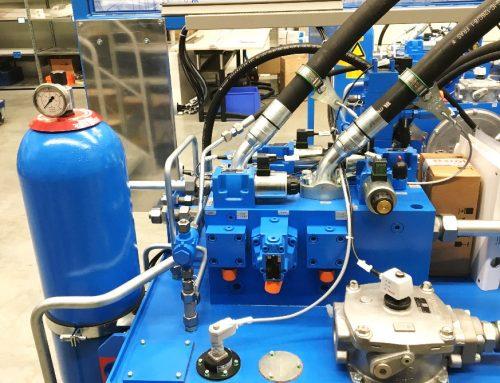 Elektro-Installationen Hydraulikaggregate und Vorrichtungs- und Komponenteninstallation